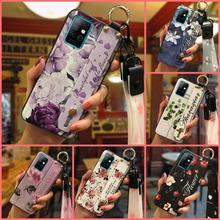 Telefoon Houder Soft Case Telefoon Case Voor Infinix X692/Note8 Polsband Originele Polsband Lanyard