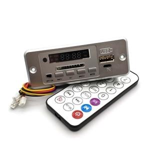 Image 2 - Беспроводной MP3 плеер 5 В, декодер, плата, встроенный WMV декодер, плата, аудио модуль, USB TF радио для автомобиля, красный цифровой светодиодный декодер с