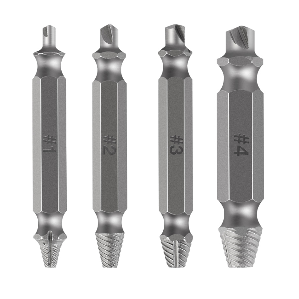 1pcs Material Damaged Screw Extractor Drill Bits Guide Set Broken Speed Out Easy Out Bolt Stud Stripped Screw Remover Tool