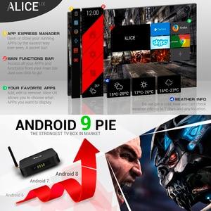 Image 5 - 4 ГБ 64 ГБ Android 9,0 TV Box TX6 Smart TV BOX Allwinner H6 Quad Core ALICE Wifi HDR 4K TV BOX Android Set Top Box медиаплеер