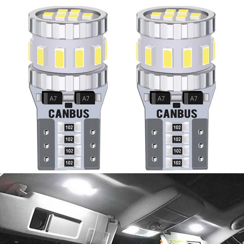 2x T10 W5W Led Canbus Geen Fout Auto Verlichting Voor Honda Civic Accord Crv Hrv Jazz Fit NC750X Auto Led interieur Licht Kofferbak Lamp 12V