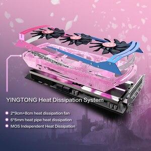 Image 5 - Yeston Radeon RX 5700 XT GPU 8GB GDDR6 256bit 7nm Gaming Desktop del computer PC Video Schede Grafiche supporto DP/HDMI PCI E X 16 3.0