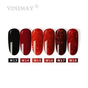 Image 3 - VINIMAY Hot Sale Red Gel Nail Polish vernis semi permanant UV Soak Off Gelpolish Nail Art Gel Varnish Manicure Nails Gel Lacque