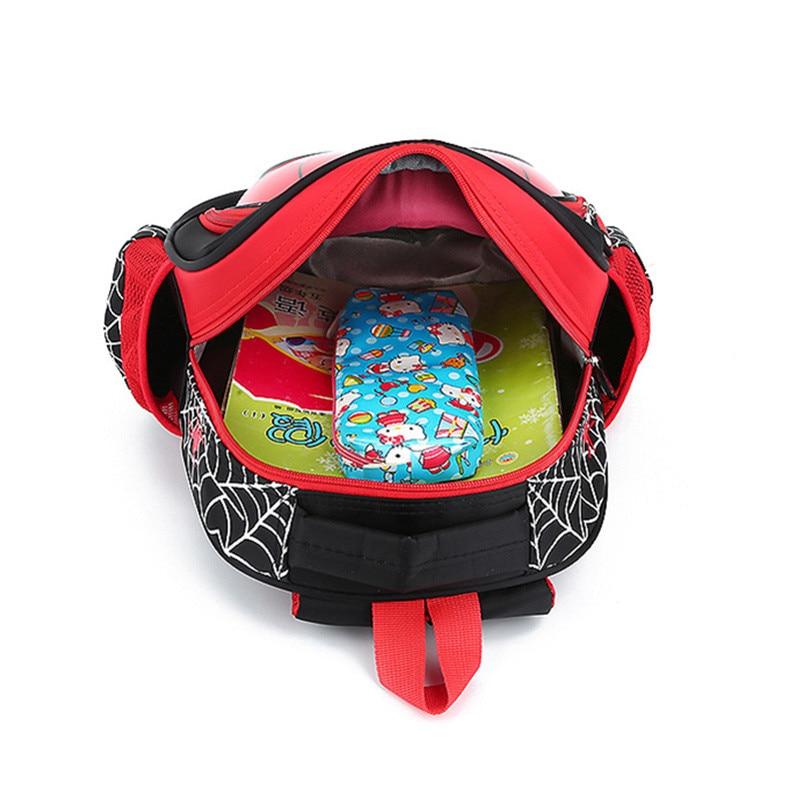New Boys 3-6 Year Old 3D School Bags Child Spiderman Book bag Kids Shoulder Bag Satchel Knapsack 2020 Hot Waterproof Backpacks 5