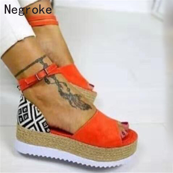 Women Sandals Wedges Shoes For Women High Heels Gladiator Sandals Summer Shoes Chaussures Femme Platform Sandals 2019 gladiator women sandals wedges high heels sandals spring summer brown black female shoes casual lady shoes woman footwear
