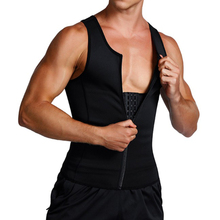 FDBRO Man Shaper Male Body Modeling Belt Tummy Slimming Strap Fitness Sweat Shapewear Waist Trainer Cincher Corset