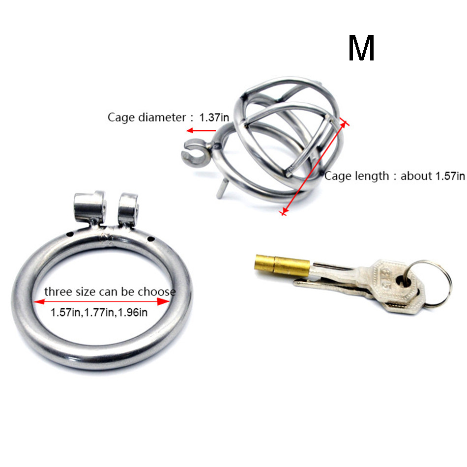 Chastity Cage For Men | Tiny Chastity Cage