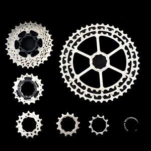 Image 5 - Shimano M6000 MTB 10 Geschwindigkeit SLR Fahrrad Kassette 11 46 T Breite Verhaltnis CNC Ultraleicht Freilauf Mountainbike M8000