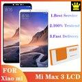6.9 ''für Xiaomi Mi Max 3 LCD Display Bildschirm Touch Digitizer Montage für Mi Max 3 Multi touch Reparatur teile