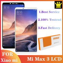 Pantalla LCD de 6,9 pulgadas para Xiaomi Mi Max 3, montaje de digitalizador táctil, piezas de reparación Multi Touch