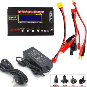Imax b6 v3 digital rc lipo nimh bateria balance carregador + ac power 12v 5a adaptador nova atualização para rc drone carro rc|Peças e Acessórios|Brinquedos e hobbies -