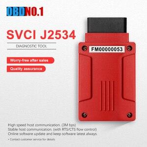 Image 1 - Svci J2534 Für Fvdi J2534 OBD2 Diagnose Tool Werkzeug Unterstützung Online Programmierung Und Diagnose Autos Ersetzen Für VCM2