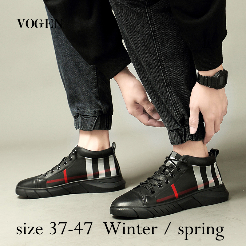 Male Shoes Adult Big Size 47 13 Mens Keep Warm In Winter Genuine Leather Wedding Shoes Men Luxury Shoes Zapatos De Hombre 2019