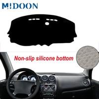 Midoon carro auto interior painel capa dashmat tapete capa para chevrolet spark 2009 2010 2011 2012 pára-sol traço tapete anti-sujo