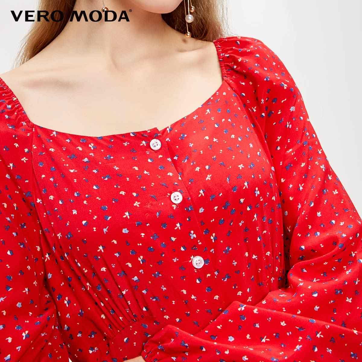 をベロmoda新しい花王室袖フレンチスタイル襟ドレス | 31937D517