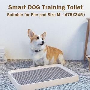 Esterilla de entrenamiento para perros Petkit, inodoro de gatos para perros y conejos pequeños para mascotas, orinal portátil para perros reemplazable, bandeja antideslizante