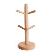 Nordic Kitchen Wooden Rack Cup Tree Bottles Mug Holder Mug Stand