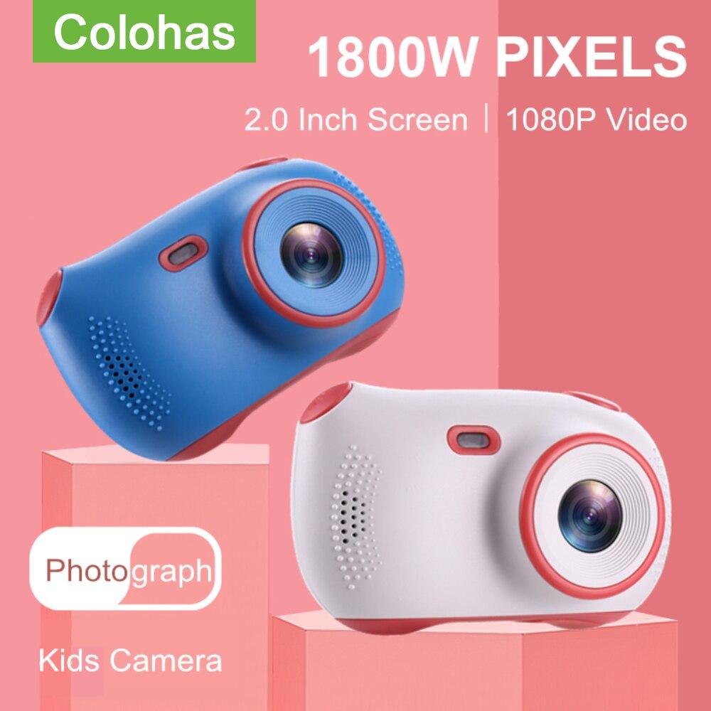 Cute Children's Photo Camera 2inch Display Kids Camera Digital Camera Toys For Kids Gift Video Camera Mini Screen Baby Toy
