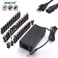37pcs Universal Laptop Charger 96W Type C Adjustable Portable Lader 12v to 24v Power Supply for Macbook HP Dell Lenovo Notebook