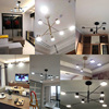 modern lustre dining black chandeliers 2