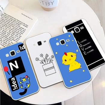 Girl Man 2 Silicon Soft TPU Case Cover For Samsung Galaxy Core Grand Prime Neo Plus 2 G360 G530 I9060 G7106 Note 3 4 5 8 9 image