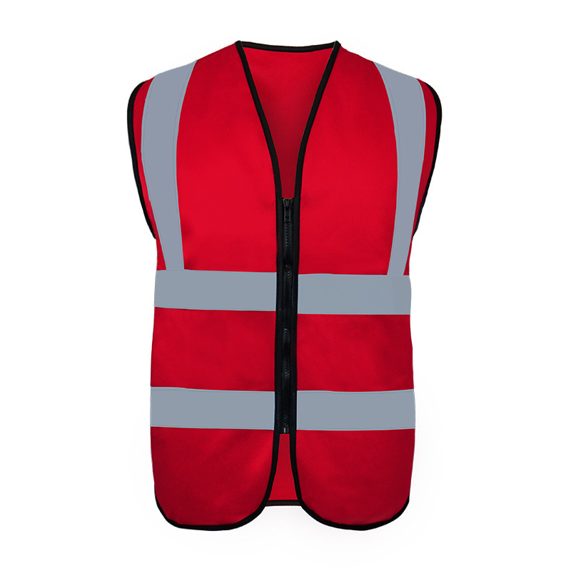 Shield Keep Fire Prevention Safety Reflective Vest Protective Waistcoat Traffic Sanitation Work Clothes Customizable Reflective