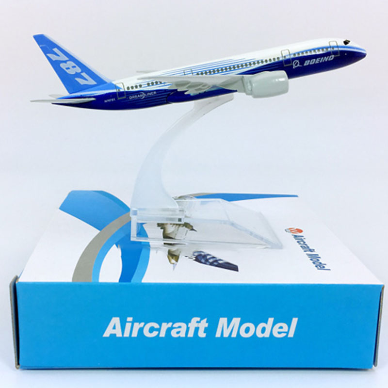 14CM 1:400 Scale Boeing B787-8 Airline Aircraft Model Landing Gear Alloy Diecast Airplane Collectible Display Toy Plane Kid Gift
