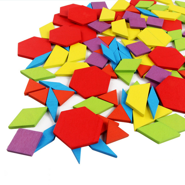 Hot Sale 155pcs Wooden Jigsaw Puzzle Board Set Colorful Baby  Educational Toys for Children Learning Developing Toy Y012 3