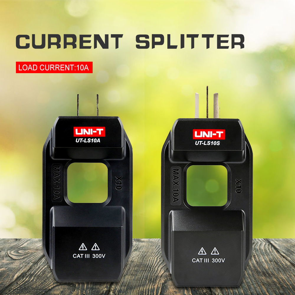 UNI-T UT-LS10A UT-LS10S Clamp Meter Converter AC Current and Current Splitter Electrical Equipment & Supplies