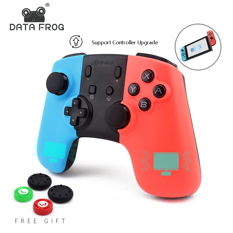 Controlador de juego DATA FROG para Nintendo Switch, mando inalámbrico para PC, controlador de interruptor, Joystick Bluetooth D04 D06 D08 D10 D12 control remoto 12 canales receptor disparador efecto etapa máquina para bodas fuente de fuegos artificiales base de disparo