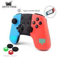 DATEN FROSCH Spiel Controller Für Nintendo Schalter Controller Wireless Gamepad Für PC Schalter Controller Bluetooth Joystick