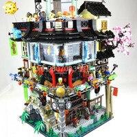 06066 Ninja Movie Series Ninjagoes City Great Creator City Construction 4953pcs Bricks Building Blocks Toys Sets 70620 In stock