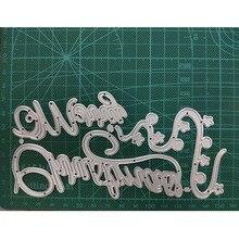 141*122mm  Acrobatic man Decorative Cards Metal Cutting Dies Stencil for DIY Scrapbooking Album Embossing Paper