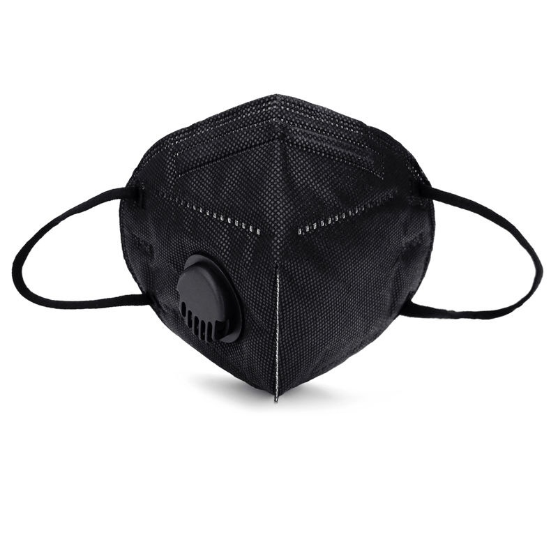 Wholesale Double Valve Air Purifying Muffle Carbon Filter Dust Haze Fog Respirator Face Maskswashable And Reusable Foulard Femm