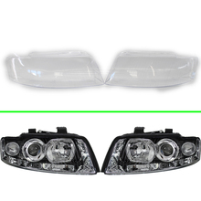 Headlight Cover For Audi A4 B6 2000 2001 2002 2003 2004 Headlamp Lens Car Replacement Auto Shell