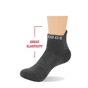 Image 3 - Yuedge Unisex cotton Terry cushion casual sports cycling running low cut ankle socks Sneaker Socks
