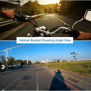 Image 5 - Lanbeika Full Face Helm Kin Mount Houder Motorhelm Chin Stand Voor Gopro Hero 9 8 7 6 Sjcam Dji osmo Camera Accessoire