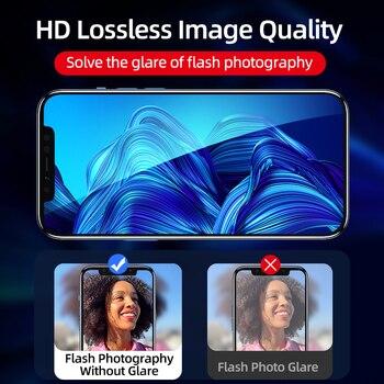 Защитное 3D стекло для камеры iPhone 12