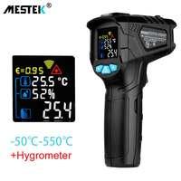 Termómetro infrarrojo C/F pirómetro sin contacto termómetro Industrial Digital IR, medidor de temperatura-50 ~ 800 ℃ grados Celsius