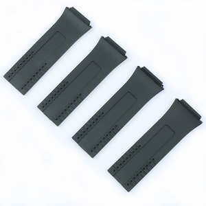 Image 3 - Mens Rubber Soft Strap For Porsche Design P6780 Watch Series Womens Silicone Sports Waterproof Strap Watch Accessories