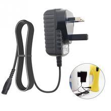 과충전 보호 전원 공급 장치 검정색 플러그 경량 어댑터 LED 표시기 배터리 충전기