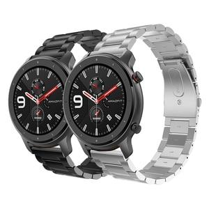 Image 5 - [Global Version ] Amazfit GTR 47มม.GPRสมาร์ทนาฬิกาผู้ชาย5ATMกันน้ำSmartwatch 24วันแบตเตอรี่Huamiสมาร์ทนาฬิกา