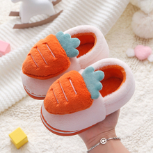 Children Slippers Carrot Shoes Flop Slides Flip Toddler Home-House Girls Baby Winter