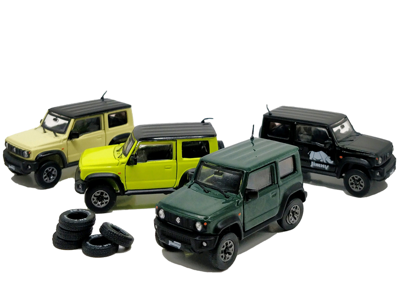 1:64 BM Creations Suzuki Jimny (JB74) Right Hand Drive Diecast Model Car
