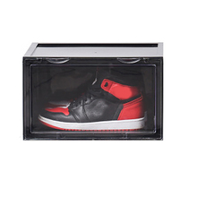 Newest Sneaker Shoe Box Acrylic Display Shoes Storage Case Organizers Stackable Foldable