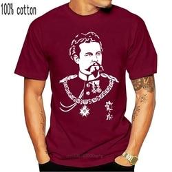 Coton décontracté marque t-shirt coton hommes à manches courtes t-shirt Design t-shirt Ludwig Ii Bayern nouveau cygne t-shirt