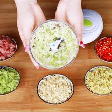 лучшая цена Manual Garlic Press Food Shredder Meat Chopper Slicer Vegetable Cutter Chopper Shredder Garlic Squeezer Kitchen Accessories