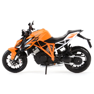 Image 4 - Maisto 1:12 KTM 1290 Super Duke R Orange Die Cast Vehicles Collectible Hobbies Motorcycle Model Toys