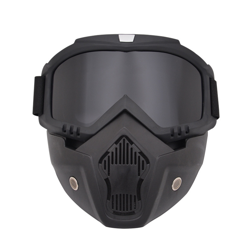 Explosion Proof Airsoft Paintball Mask With Goggles Shockproof Army Military Tactical Mask Outdoor Hunting CS War Game Mask