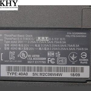 Image 5 - 40A00 ثينك باد برو حوض المنافذ 65W ل ثينك باد T540p T550 T560 T570 X240 X240s X250 X260 X270 W540 W541 W550s 04W3954
